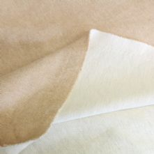 Double Sided Beige and Ivory Heavy Weight Cotton Jersey 150cm Wide